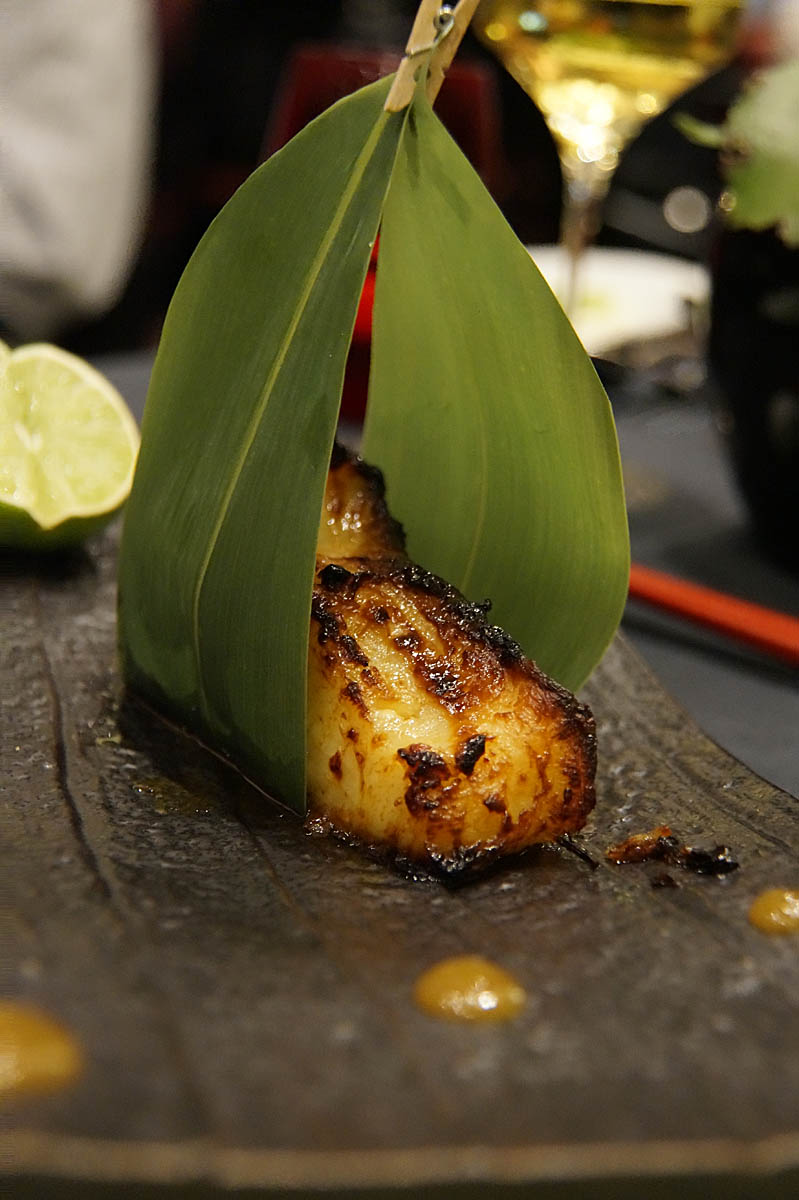 Fisch-Rezept: Heilbutt Filet à la Miso Glazed Seabass
