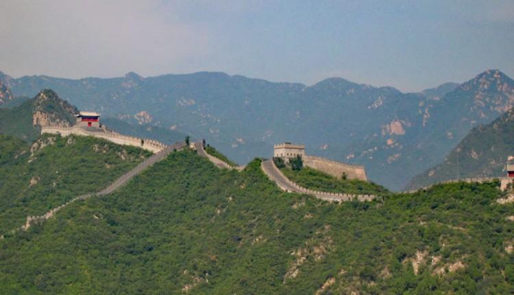 Chinesische Mauer Karte.Die Chinesische Mauer Bei Peking