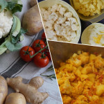 Aloo Gobi vegetarisches Curry