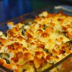 Brokkoli Auflauf mit Feta