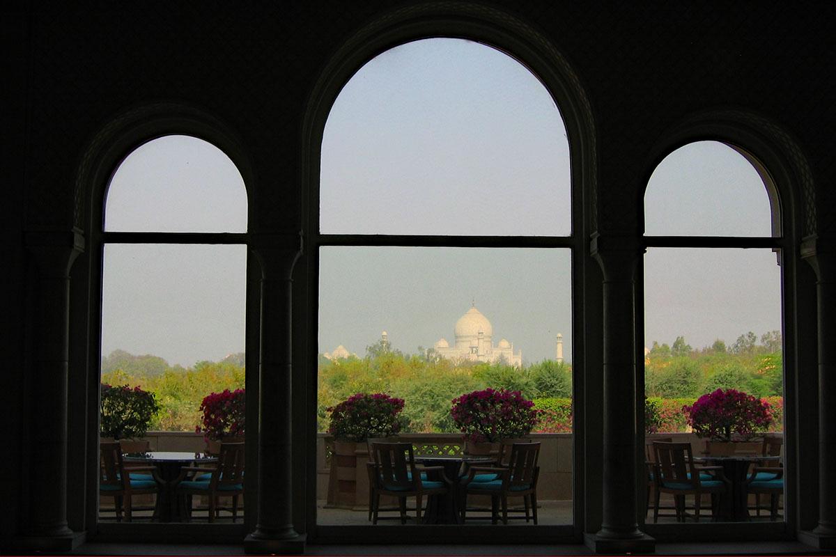 Dieses Hotel hat den schönsten Ausblick zum Taj Mahal, Indien