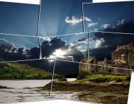 Foto Challange - schottisches Castle trifft Magdeburger Himmel