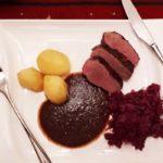 Entenbrust mit Pflaumen Portwein Soße