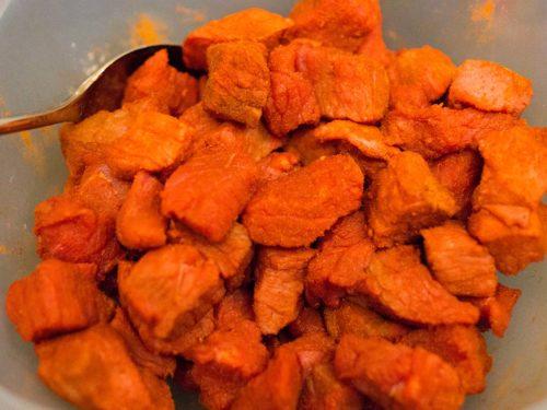 Ungarisches Gulasch mit Paprika