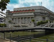 The Fullerton Hotel in Singapore - historisches Flair an der Marina Bay