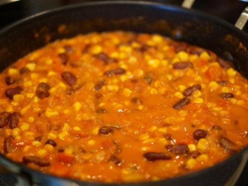 Afrika Rezept vegetarische Gemüsepfanne