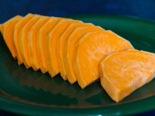 Süßkartoffel Auflauf Zubereitung