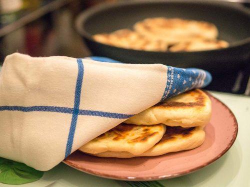 Naan Brot einfaches Fladenbrot