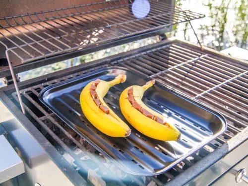Bananen auf dem Grill