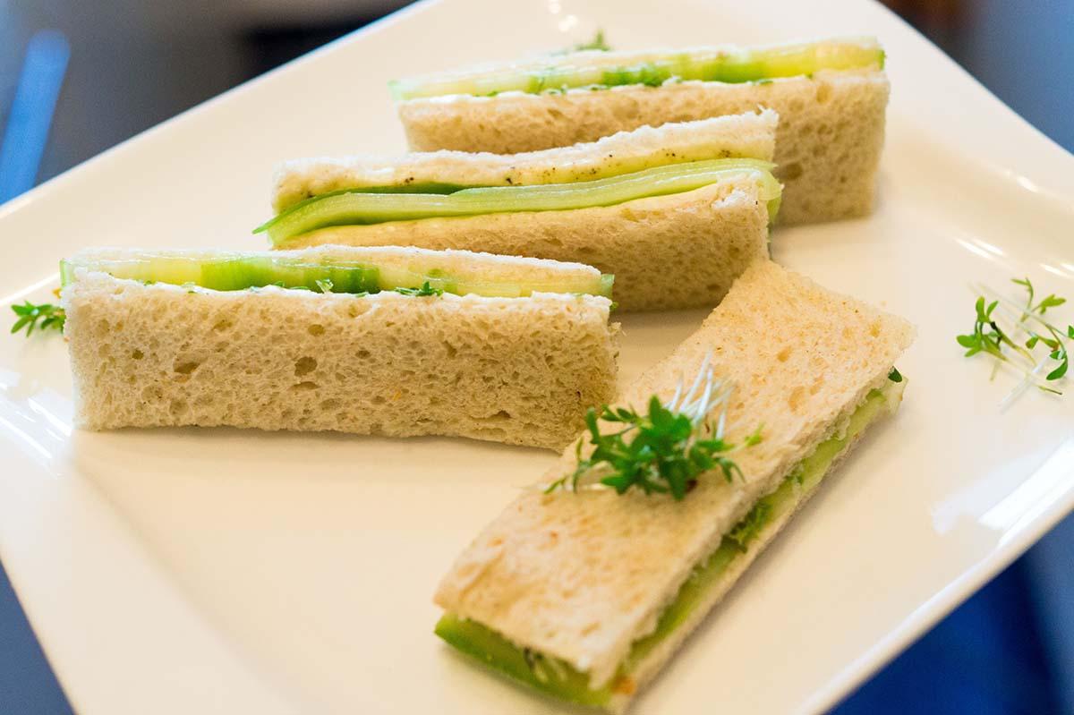 Englisches Gurkensandwich – der Klassiker beim Afternoon Tea