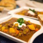 Irish Stew mit Rindfleisch und Guinness