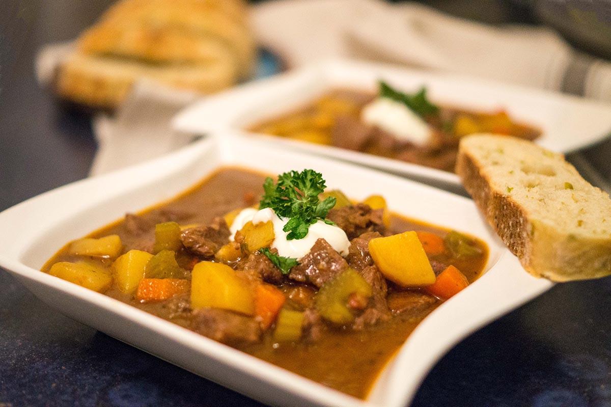 Irish Stew mit Rindfleisch und Guinness – eine köstliche Variation