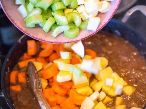 Irish Stew zubereiten