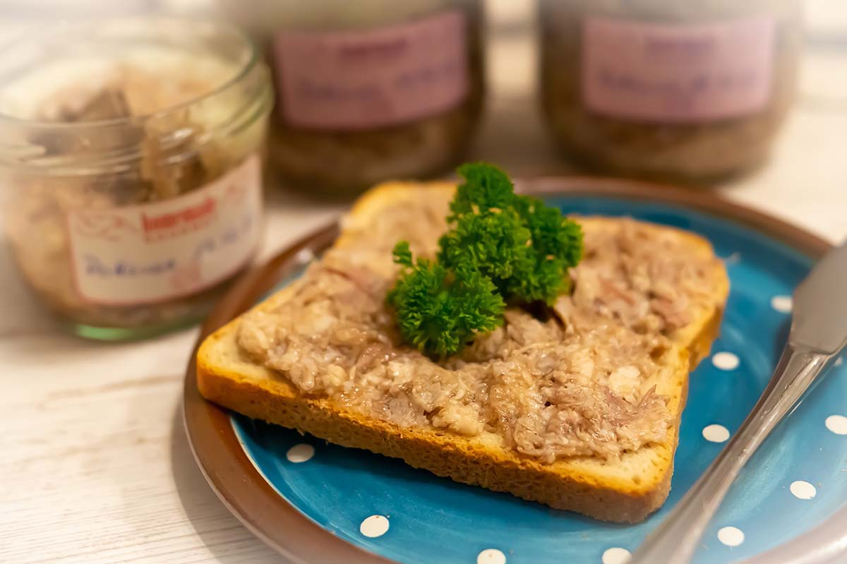 Pottsuse – köstlicher Brotaufstrich nach Omas Rezept